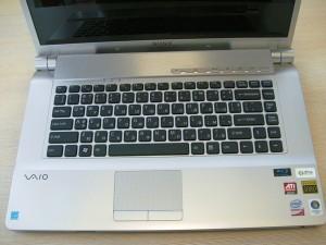 SONY Vaio - снимка клавиатура
