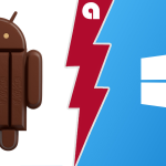Android 4.4 KitKat срещу Windows Phone 8.1