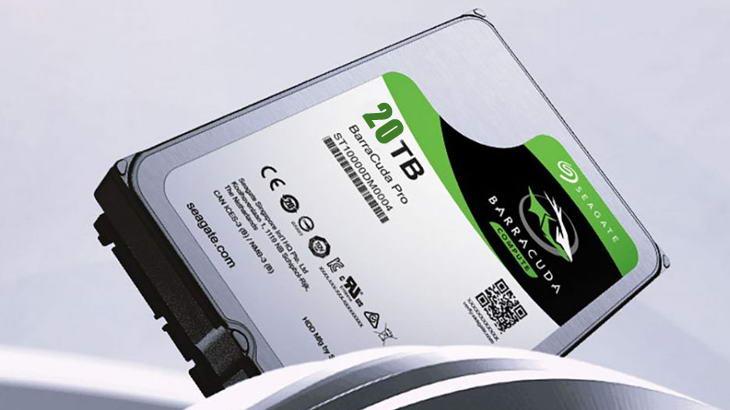 Seagate планира твърди дискове по 20TB до 2020 година