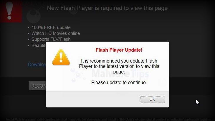 Пазете смартфоните си от вирус, позиращ като Flash актуализация