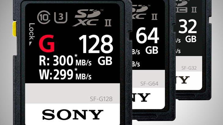 """Sony SF-G претендират за """"най-бързите карти памет в света"""""""