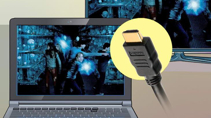 Как да свържем телевизор с преносим или настолен компютър