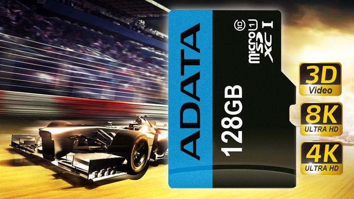 ADATA пуска серия високопроизводителни и устойчиви microSD и SD карти