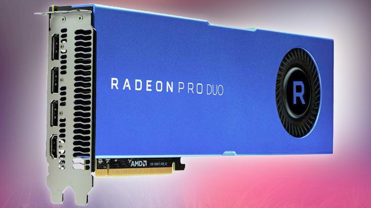 Radeon Pro Duo — първата двупроцесорна професионална видеокарта
