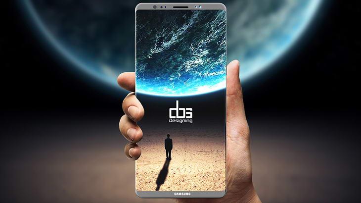 Samsung работи с повишено внимание върху Galaxy Note 8