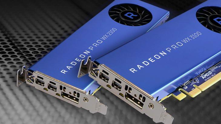 AMD Radeon Pro WX 3100 и 2100 — достъпни видеокарти за бизнеса