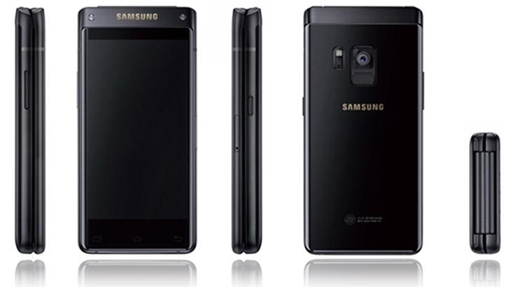 Подробности за смартфона с капаче на Samsung