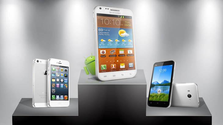 Huawei настига Apple при смартфоните. Samsung удържа трона си