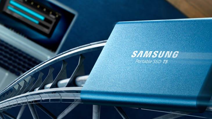Иновативните SSD T5 на Samsung вече са в Ardes.bg