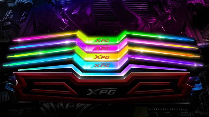 Компютърът ви грейва с паметите ADATA XPG SPECTRIX D40