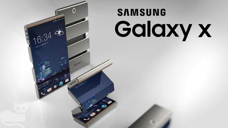 Гъвкавият смартфон Samsung Galaxy X идва догодина