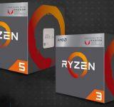 Първи конкретни данни за AMD Ryzen 5 2400G и Ryzen 3 2200G