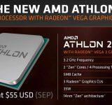 AMD пускат нови достъпни процесори Athlon за гейминг