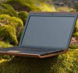 Еко лаптоп от дърво — чудо за три дни?