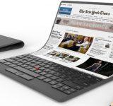 Lenovo работи по лаптоп със сгъваем OLED дисплей
