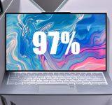 Asus ZenBook S13 е ултрабук почти без рамки около дисплея