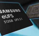Samsung са готови с разработката на най-бързите си eUFS 3.1 памети