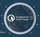 Зареждане на смартфона с Quick Charge 5 — 50% за 5 минути и 100% за 15 минути