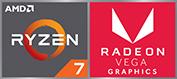 AMD Ryzen & Radeon лого