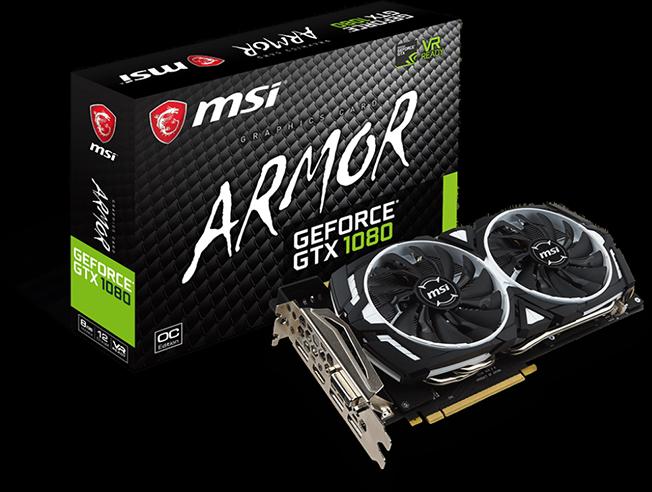 GTX 1080 8GB ARMOR OC