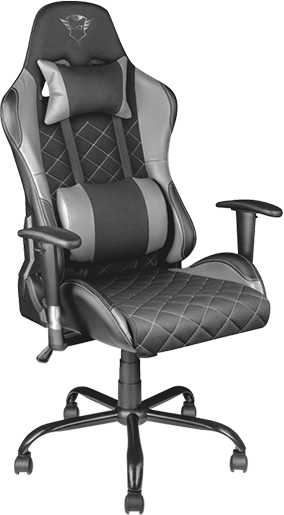 Геймърски стол Trust GXT 707R Resto, Черен/Сив