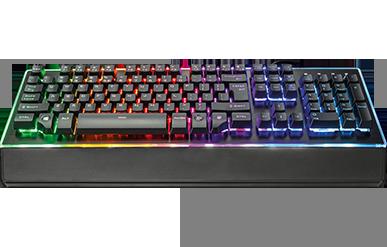 Геймърска клавиатура Trust GXT 860 Thura Semi