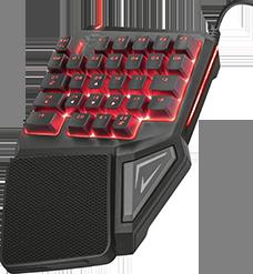 Геймърска клавиатура Trust GXT 888 Assa