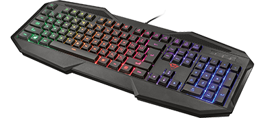 Геймърска клавиатура Trust GXT 830-RW Avonn