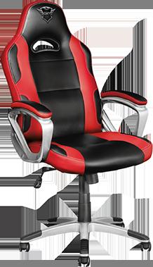 Геймърски стол Trust GXT 705 Ryon, Черен/Червен