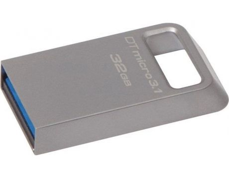 32GB Kingston DataTraveler Micro, сив на супер цени