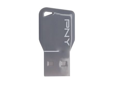 32GB PNY Key Attache, Сив на супер цени