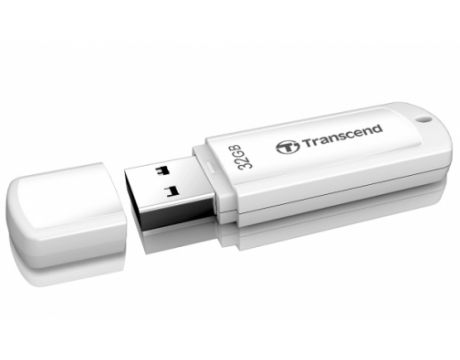 32GB Transcend JetFlash 370, бял на супер цени