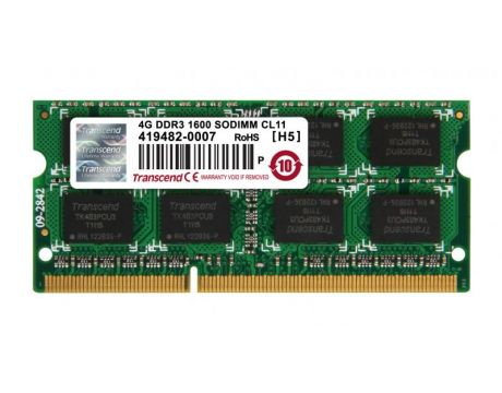 4GB DDR3 1600 Transcend на супер цени