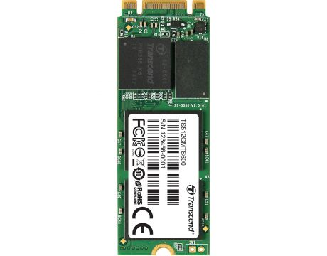 512GB SSD Transcend MTS 800 на супер цени