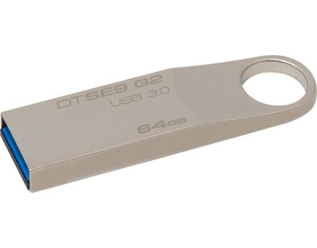 64GB Kingston DataTraveler SE9 G2, сив на супер цени