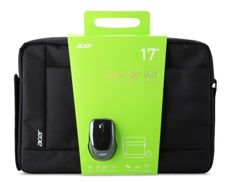 "Acer Notebook Starter Kit 17"" с безжична мишка на супер цени"