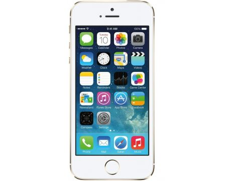 Apple iPhone 5s 64GB, Златист - Обновен на супер цени