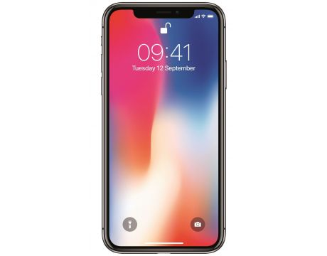 Apple iPhone X 64GB, сив на супер цени
