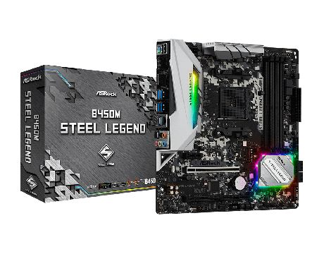 ASRock B450M Steel Legend на супер цени