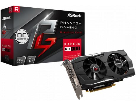 ASRock Radeon RX 580 8GB Phantom Gaming D OC на супер цени