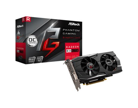 ASRock Radeon RX 570 8GB Phantom Gaming OC на супер цени