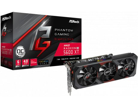 ASRock Radeon RX 5600 XT 6GB Phantom Gaming D3 OC на супер цени