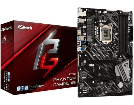 ASRock Z390 PHANTOM GAMING 4S на супер цени