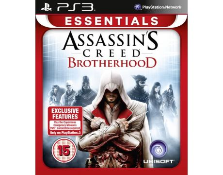 Assassin's Creed: Brotherhood - Essentials (PS3) на супер цени