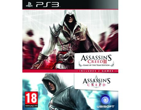 Assassin's Creed I & II Double Pack (PS3) на супер цени