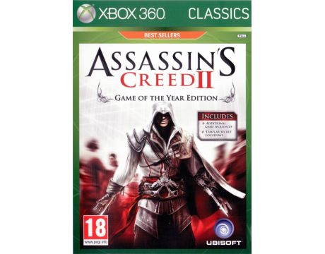 Assassin's Creed II GOTY - Classics (Xbox 360) на супер цени