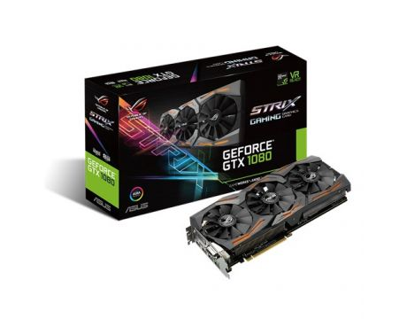 ASUS GeForce GTX 1080 8GB STRIX GAMING Advanced Edition на супер цени