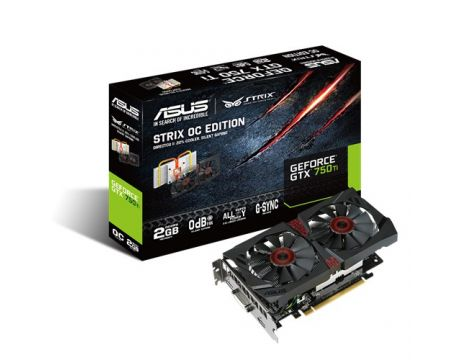ASUS GeForce GTX 750 Ti 2GB STRIX OC на супер цени