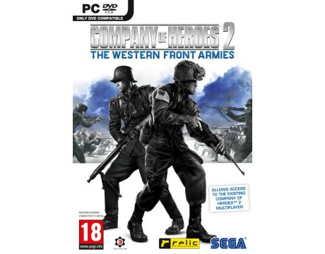 Company of Heroes 2: Western Front Armies (PC) на супер цени