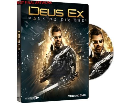 Deus Ex: Mankind Divided Steelbook Edition (PS4) на супер цени